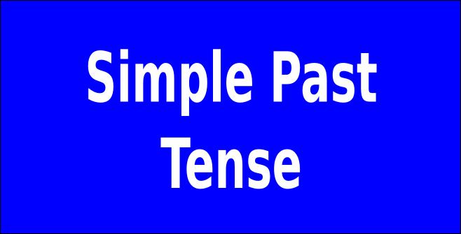 png, Simple Past Tense ~ Cara cepat dan mudah belajar bahasa inggris