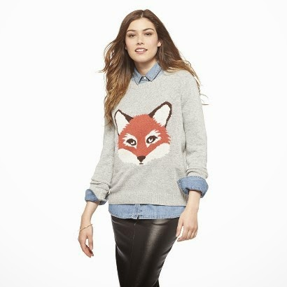 Fox Sweater from Target