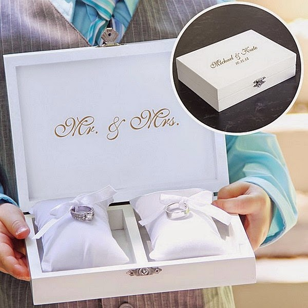 7 Wedding Ring Bearer Pillow Alternatives