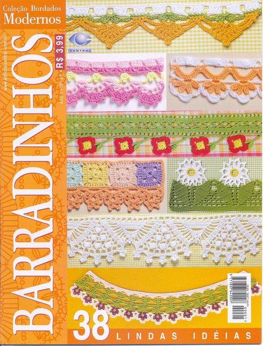 Revistas puntillas crochet - Imagui