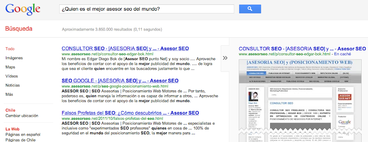 Quin es el mejor asesor SEO del mundo?