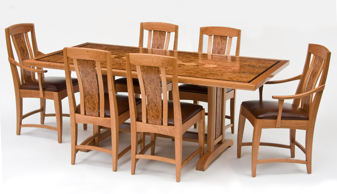 Fine Woodworking Dining Room Tables Fine Wood Artists