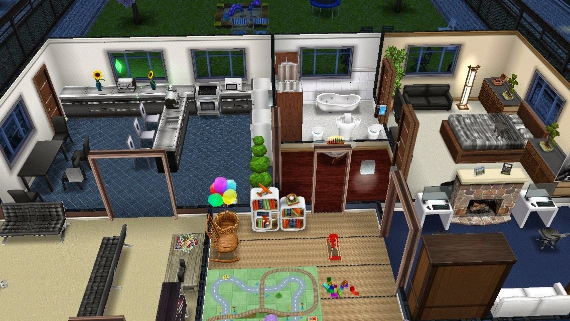 Sims aficion for Casa de diseno the sims freeplay