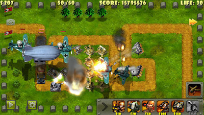 Hack cheat Little Commander World War II TD iOS No Jailbreak Required FREE