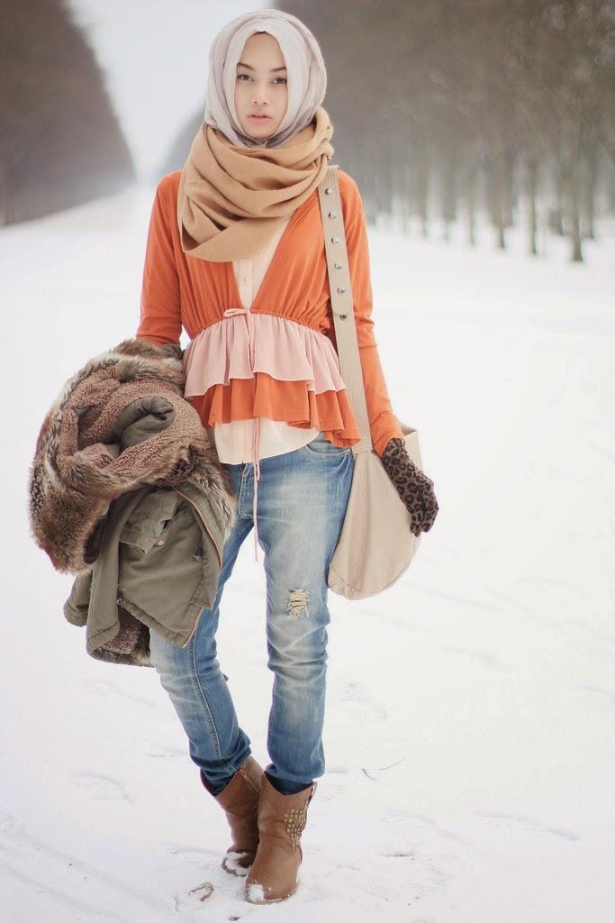 Image result for baju muslim musim gugur