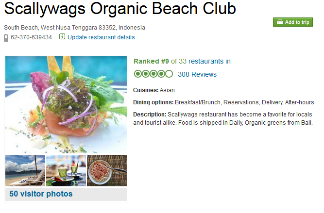http://www.tripadvisor.com.au/Restaurant_Review-g664667-d1786999-Reviews-Scallywags_Organic_Beach_Club-Gili_Air_Gili_Islands_Lombok_West_Nusa_Tenggara.html