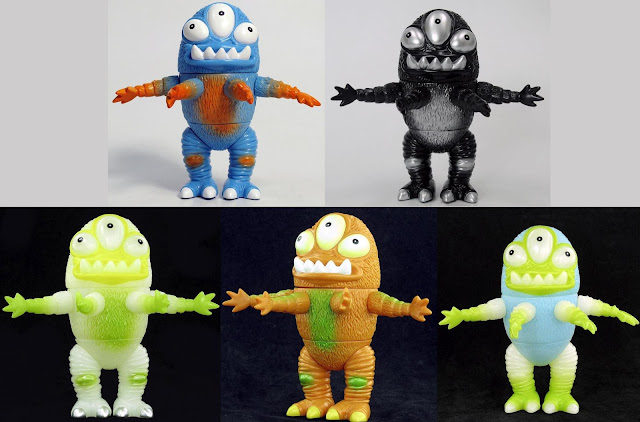 Unbox Industries - Spike Wad Vinyl Figures by Jeff Lamm - Bloo, Black Hole, Absinthe, Satsuma &amp; Claw Editions