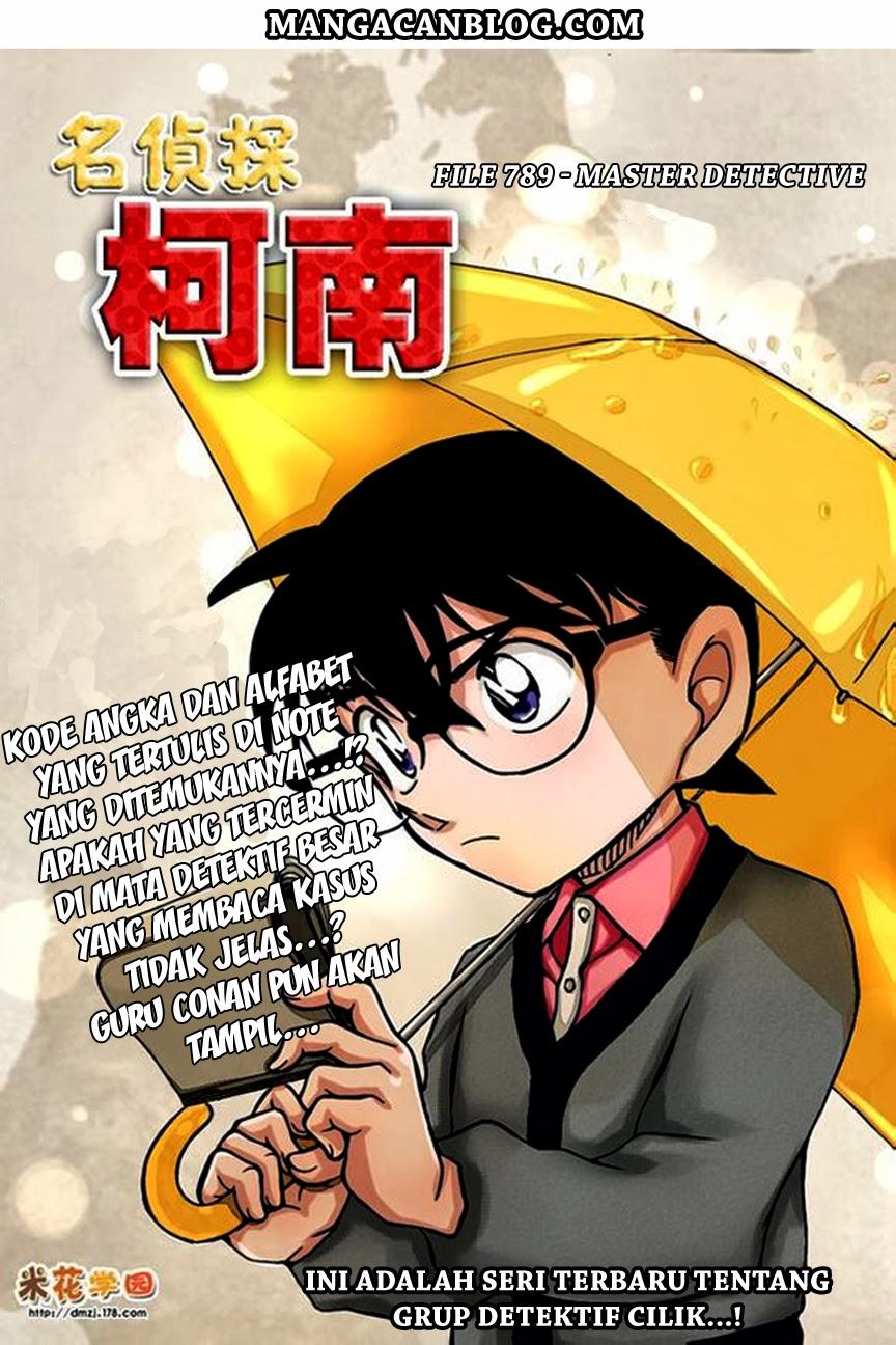 Detective conan 879 880 Indonesia Mangacan