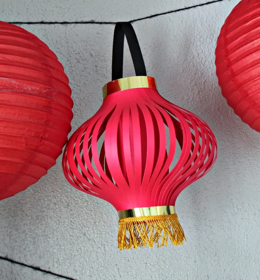 Paper craft for chinese new year creative art and craft for Craft made by paper