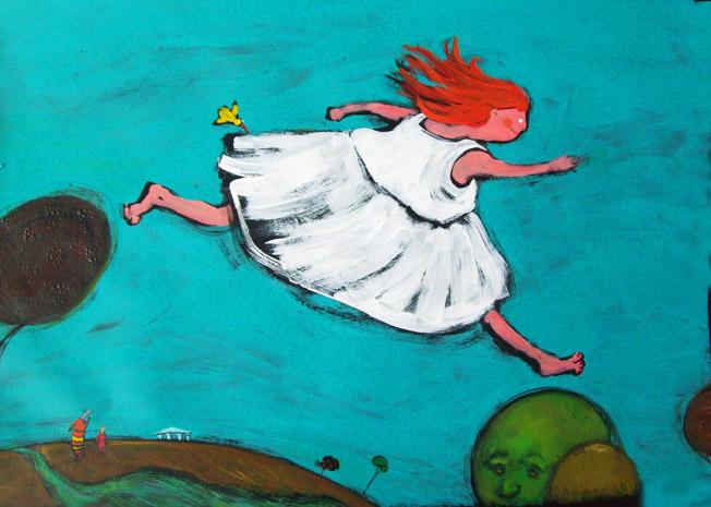 Ilustracion para Narciso y Eco