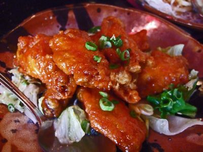 how to cook salt and chilli chicken wings