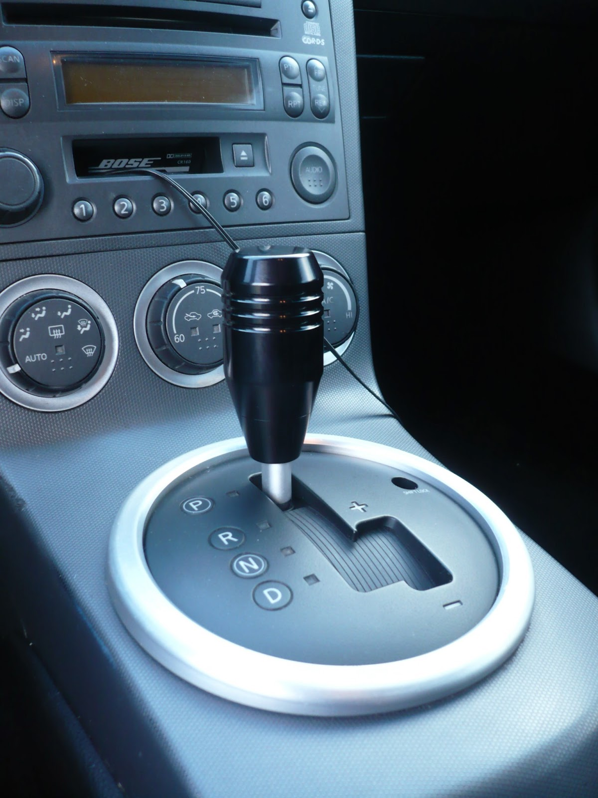 6 Foot Over 350z Auto Shift Knobs