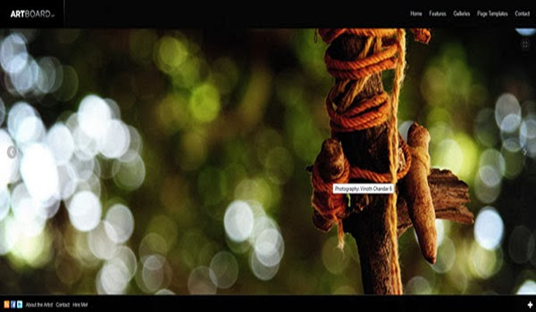 artboardsingle-page-Theme