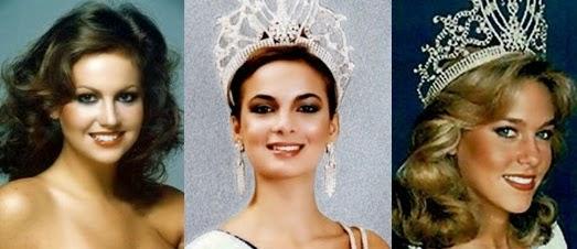 Misses Universo 78 - 79 -80