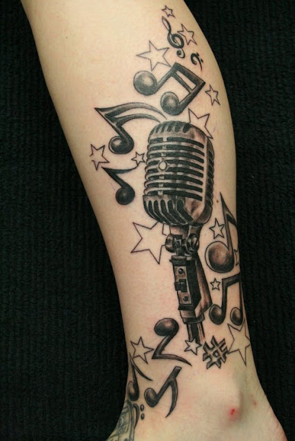 Music Tattoo Designs
