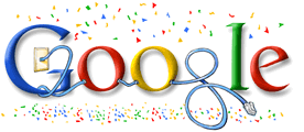 New Year 2008 Google Doodle