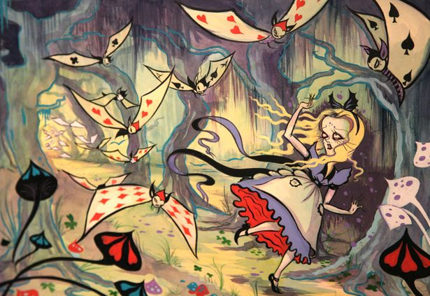 Arte Alice - Dark Paradise