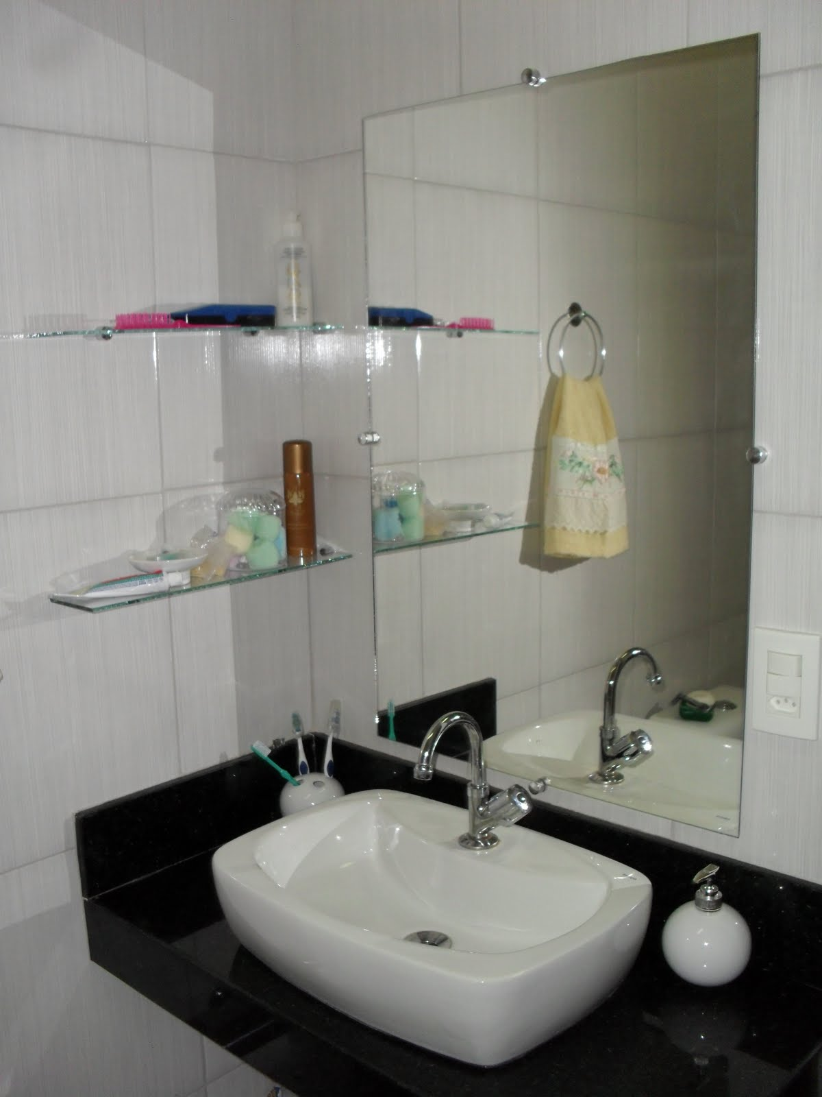 EU SOU DONA DE MIM DECORAÇÃO DE BANHEIROS -> Decoracao Banheiro Homem