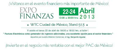 ¡FACTURAXION  presente en Expo Finanzas!