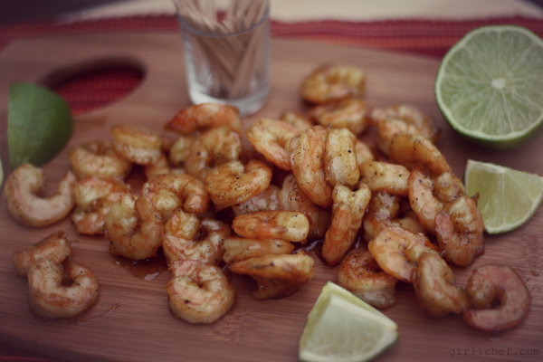 Sugar & Spice Roasted Shrimp {#MWLDinnerParty}