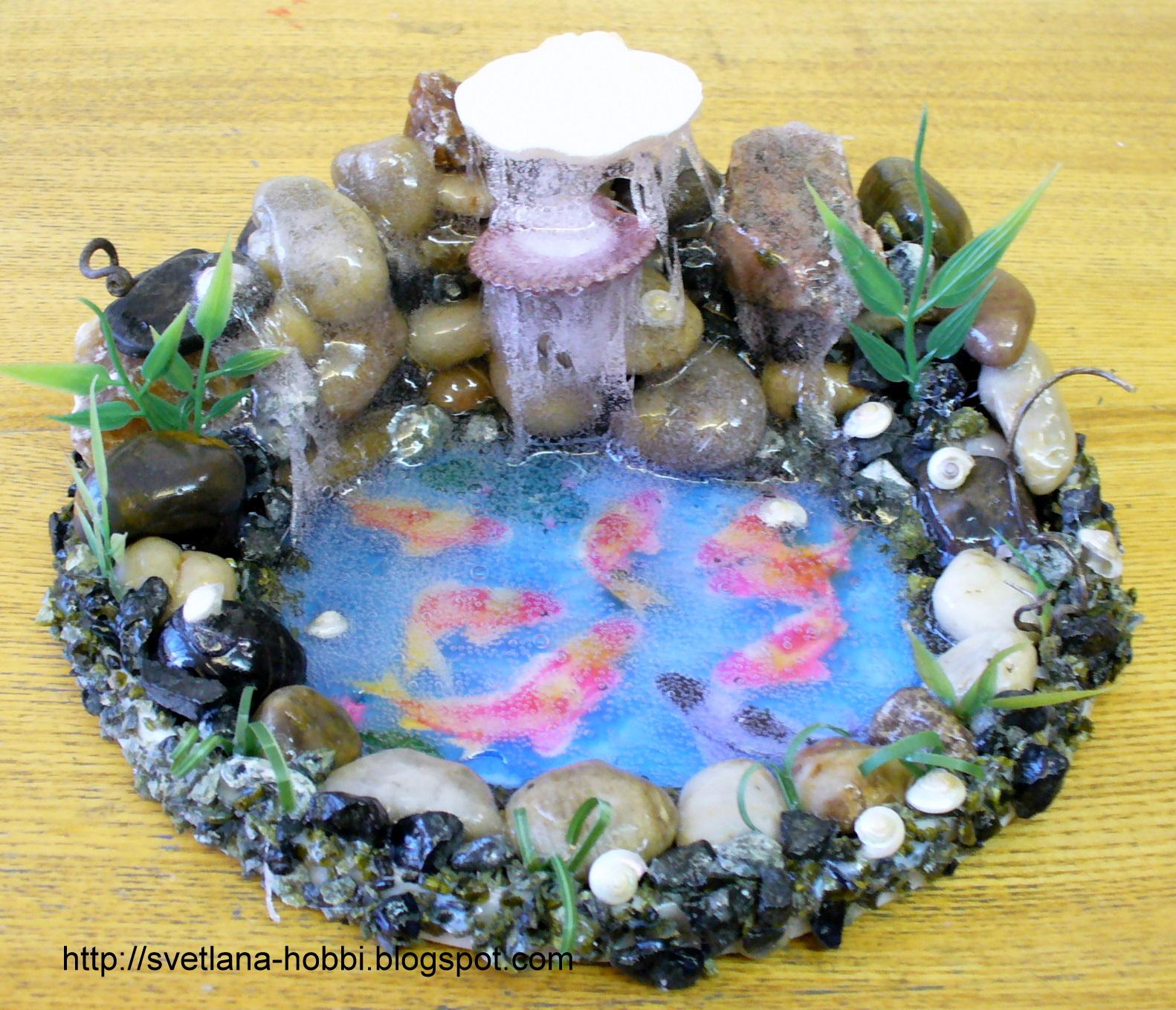 Настольный фонтан своими руками мастер класс с пошаговым
