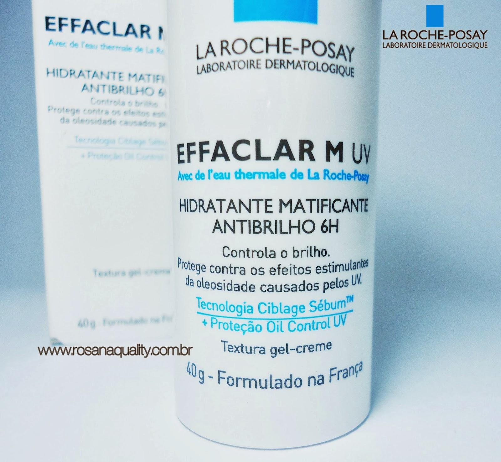 Hidratante Matificante Antibrilho La Roche Posay