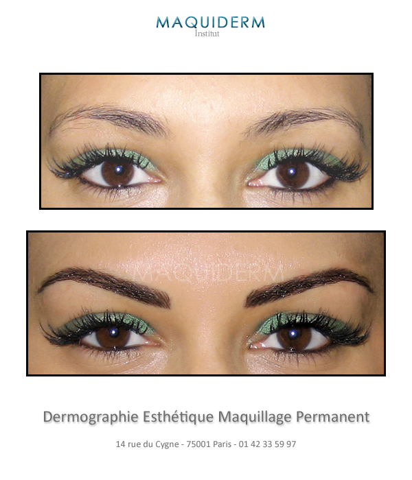 Maquillage semi permanent L'Atelier du Sourcil