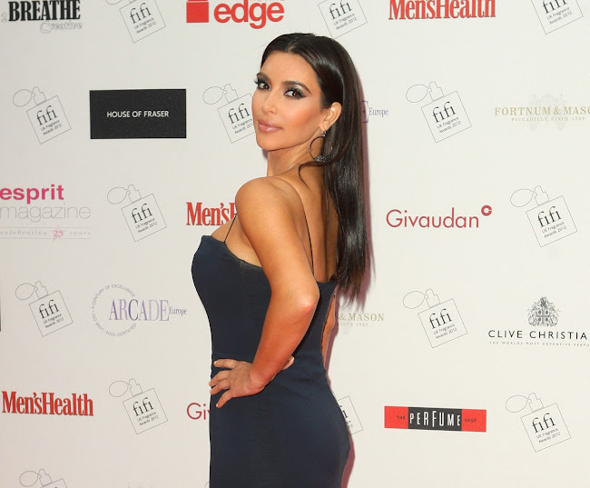 photos of KIM KARDASHIAN at The FiFi UK Fragrance Awards 2012