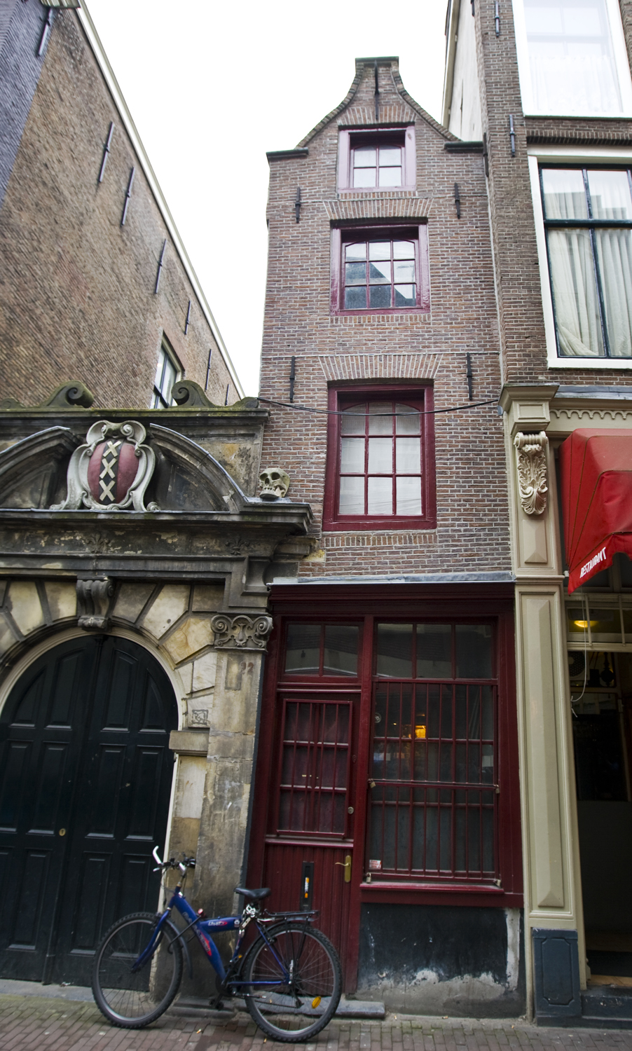 Narrowest House In Amsterdam