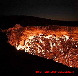 'Pintu Neraka' Misterius Muncul di Turkmenistan