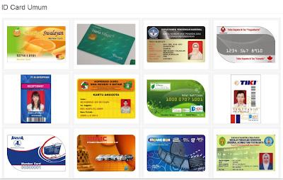 Tutorial dan Bahan untuk membuat ID Card