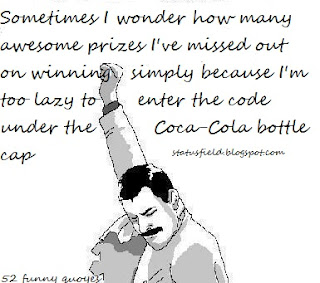 funny coca-cola quote image