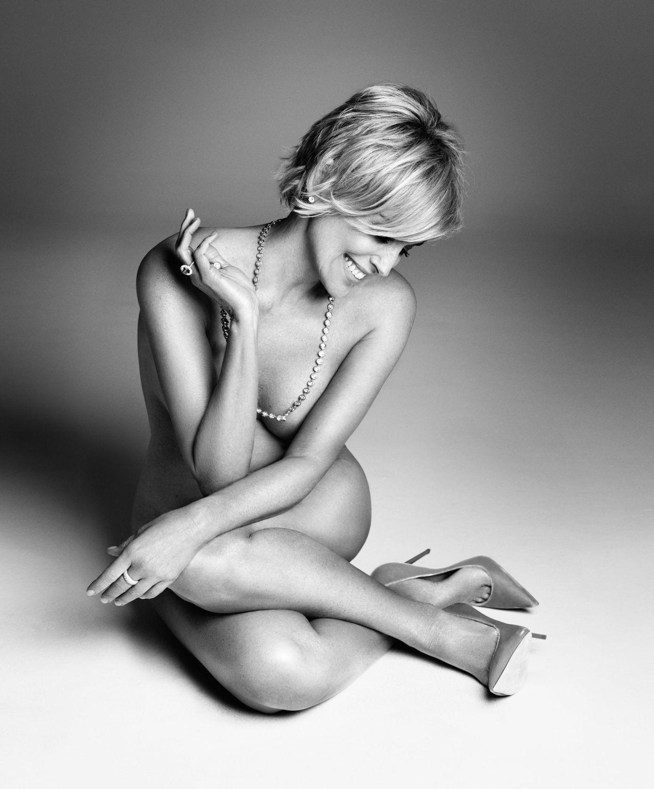 Nude Sharon Stone Controversy