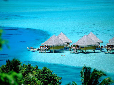 tour the famous, Bora Bora island, French
