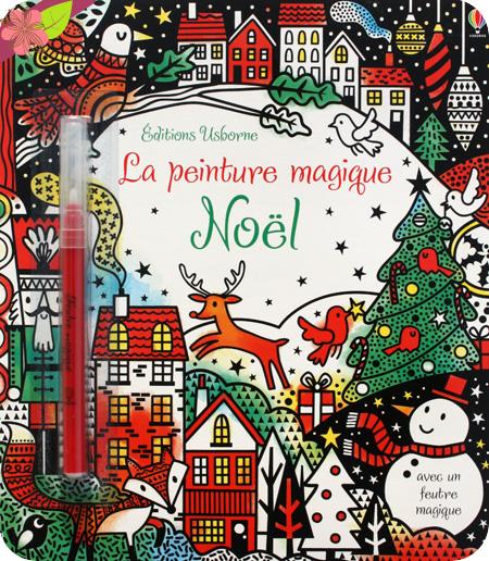 La peinture magique - Noël - Usborne