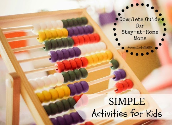 Hundreds of simple-to-prep kids activities for infants, toddlers, preschoolers. Montessori activities and mixed age groups.