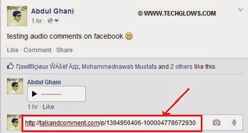 URL+talk+and+comment+chrome+extension+for+fb+audio+comments