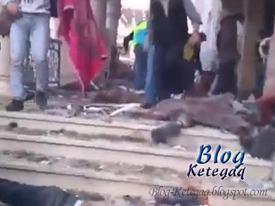 pelarian Palestin terbunuh