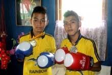 Sachin Tamang Shiv Gurung young kick boxers make Darjeeling proud