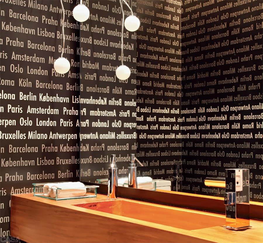 Lavabos decorados veja dicas e mais de 50 modelos for Papel de pared rustico