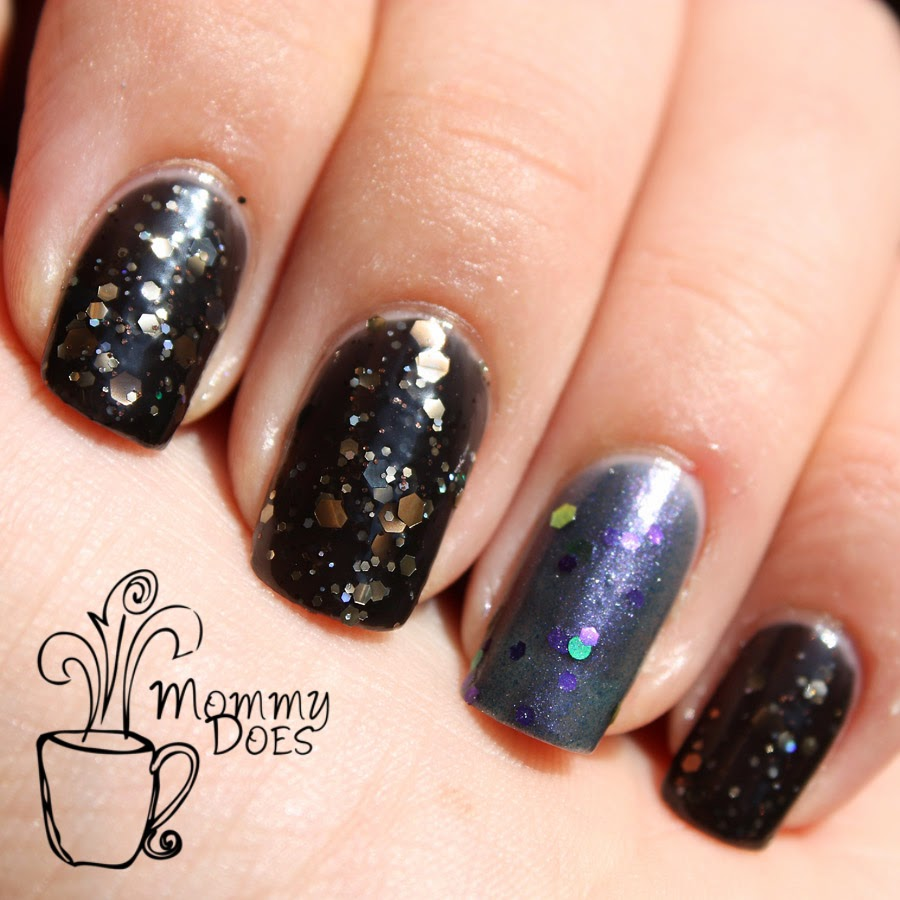 Nail Cake October 2013: Mommy Does Her Nails: Glitter Guilty October 2013 REVIEW