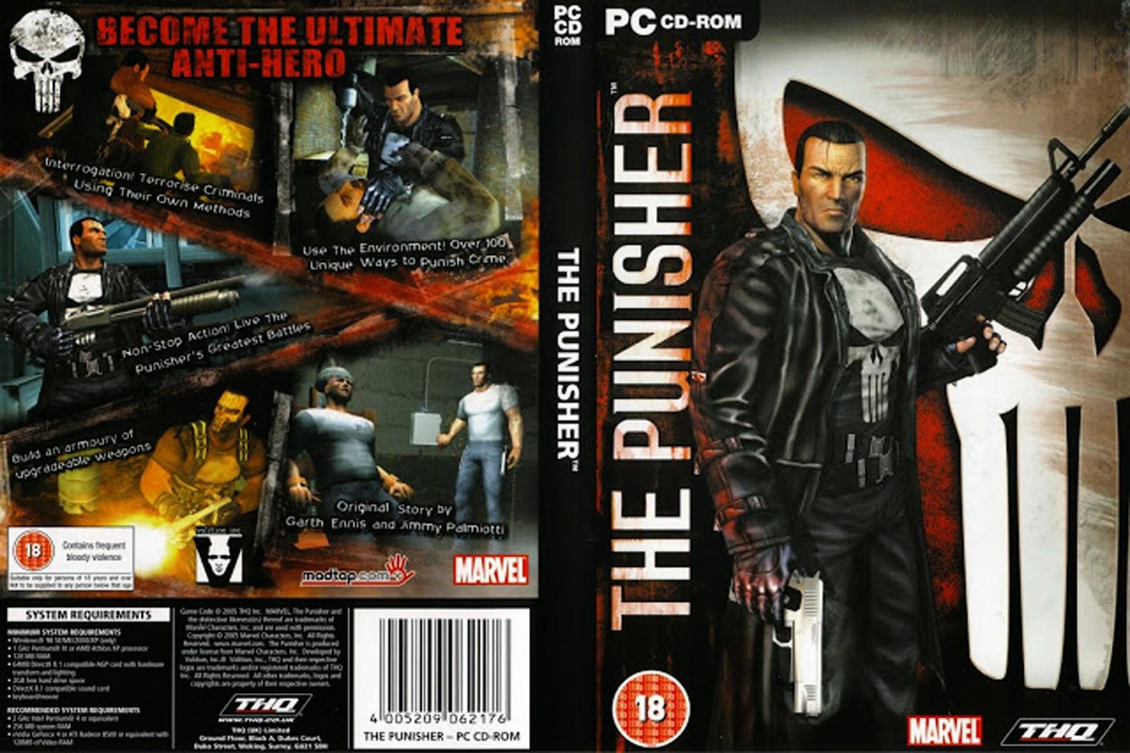 تحميل لعبة The Punisher برابط واحد وبدون تثبيت