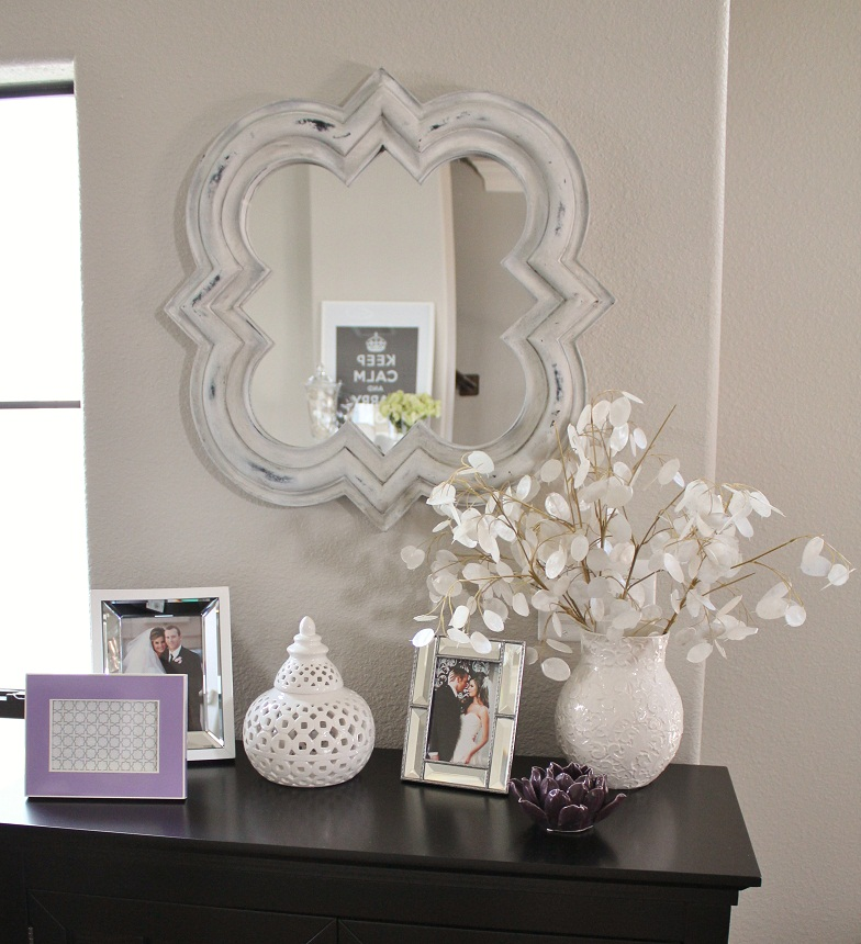 home goods mirrors hung up on the walls veronikas blushing