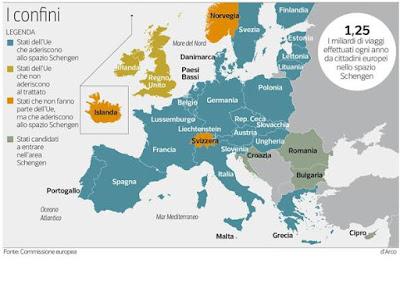 buongiornolink - L'Unione si blinda, verrà schedato ogni cittadino che rientra in Europa