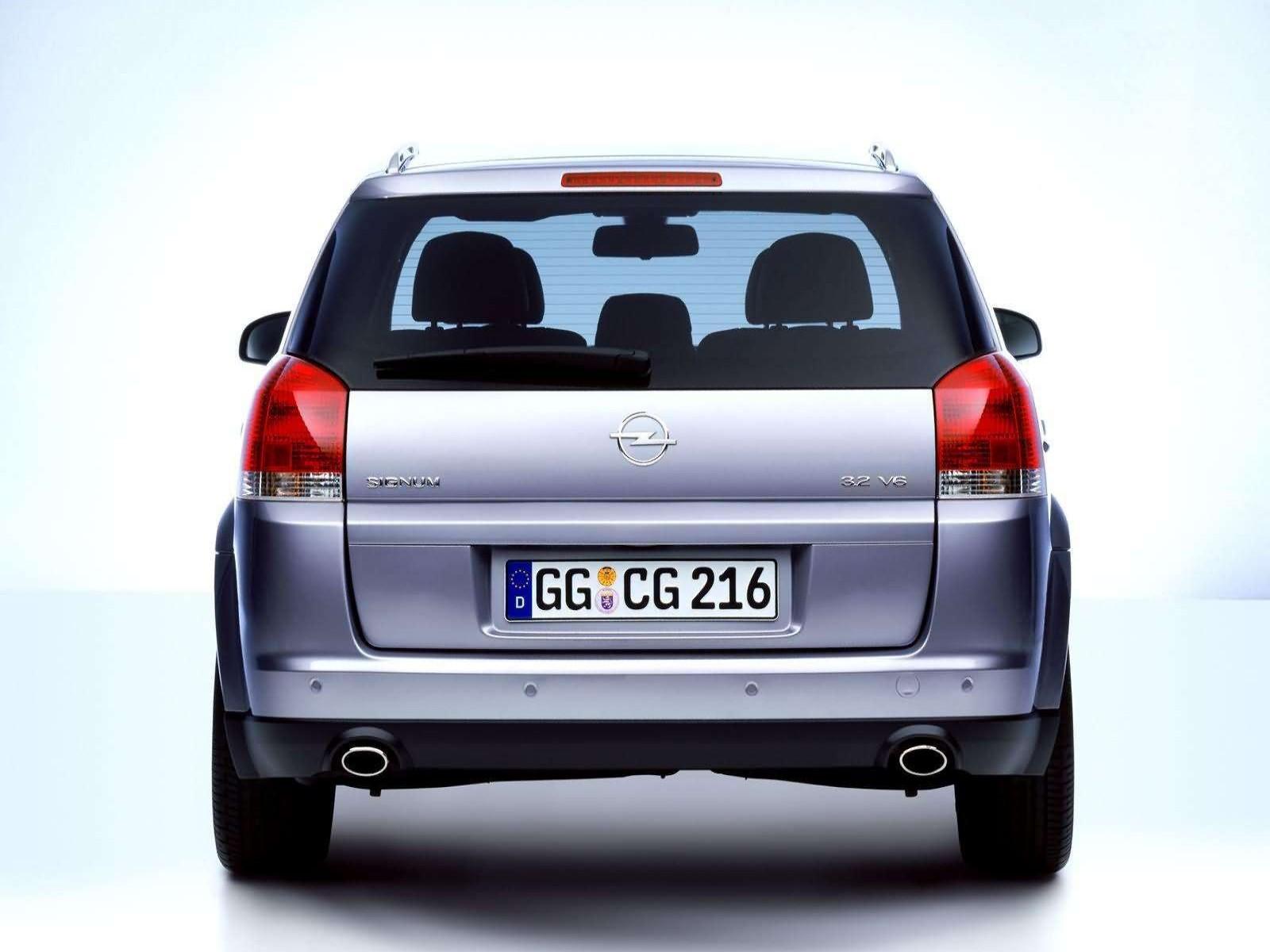 Car and car zone opel signum 32 v6 2003 new cars car reviews opel signum 32 v6 2003 vanachro Images