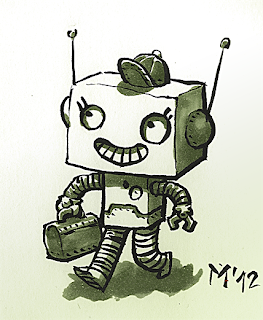 Robot Evelín