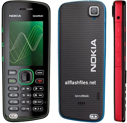 Nokia 5220 Xpressmusic RM-411 Latest Flash File V7.23 Free Download