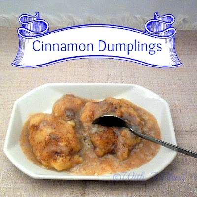 With A Blast: Cinnamon Dumplings    #dessert #cinnamon #dumplingrecipe