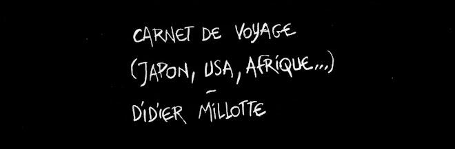Croquis de voyages Trip sketches Didier Millotte