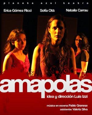 Afiche Amapolas 2012